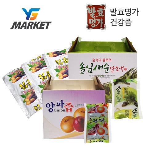국내산 양파즙 50포 /생칡즙/ 솔잎새순