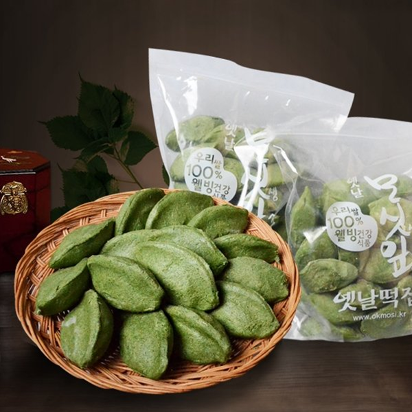 옛날떡집 영광모시떡(생송편)50개 3.2kg